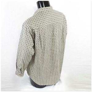Claiborne Shirts - *MEN* CLAIBORNE, Button Up Shirt, size Large